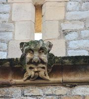 Face of Gargoyle on the Tower of London