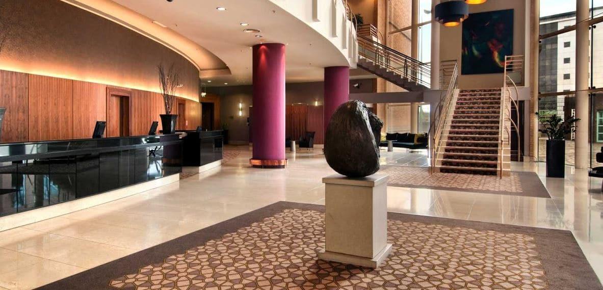 Belfast Hilton – Lobby