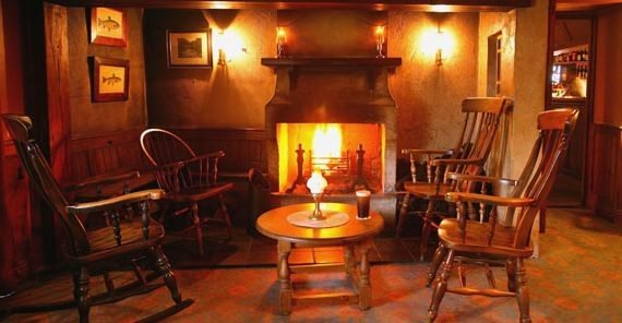 Bushmills Inn - Fire