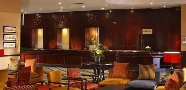 Glasgow Marriott – Reception