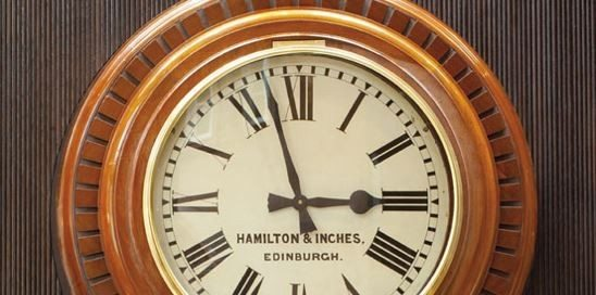 Caledonian Edinburgh – Clock