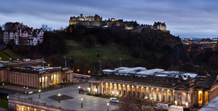Mercure Edinburgh – View