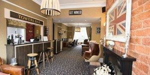 hotel bar at Hedley House Hotel in York