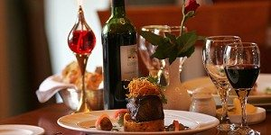 fine dining with wine at Killeen House Hotel in Killarney