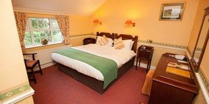 Double guestroom at Killeen House Hotel in Killarney