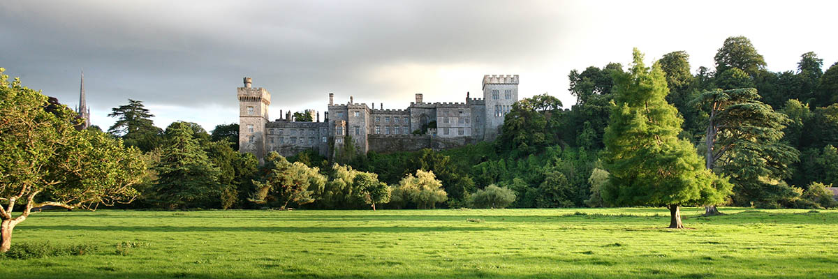 Lismore Castle in County Waterford