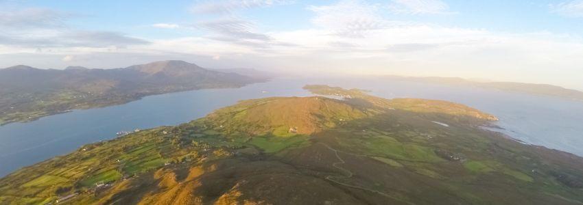 aerial of bere island