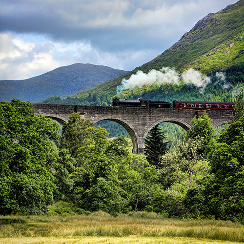 Where was Harry Potter Filmed in Scotland