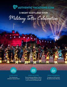 Authentic Edinburgh Military Tattoo Celebration