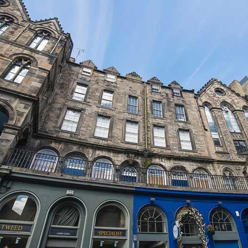 The Literary History of Edinburgh Scotland