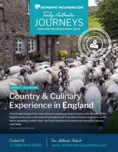 England Country & Culinary – Private Group Tour