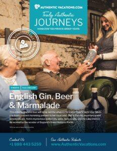 England Gin, Beer & Marmalade – Private Group Tour