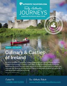 Culinary & Castles of Ireland – Private Group Tour