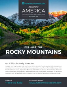 Authentic America – Rocky Mountains