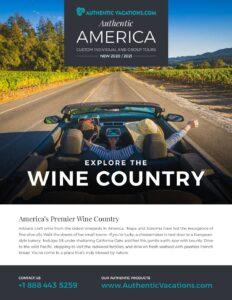 Authentic America – Wine Country