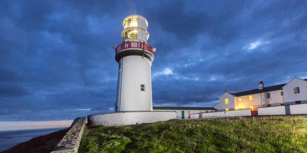 QUAINT LIGHTKEEPER'S HOUSE, IRELAND