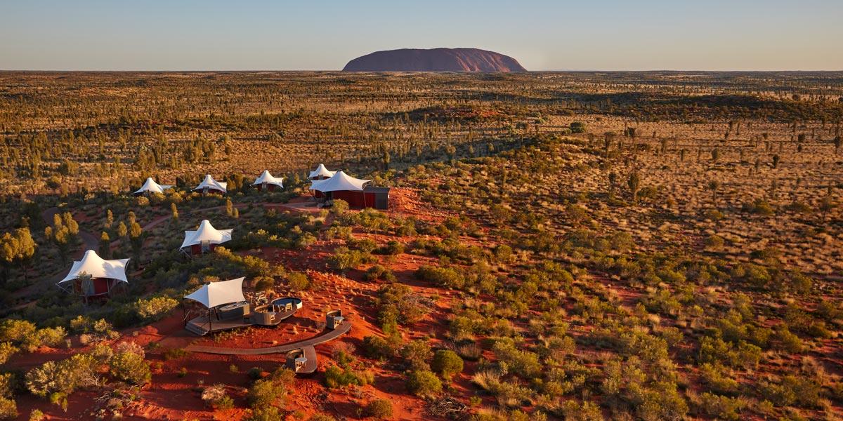 LUXURY ECO-CAMP, AUSTRALIA