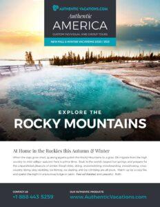 Fall & Winter – Rocky Mountains